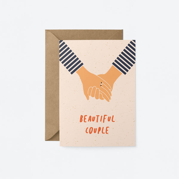 Beautiful couple Greeting Card by Graphic Factory