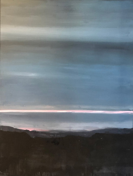 Annalisa Ferraris, Night comes on Barrington Tops, 2019, $4,200 AUD