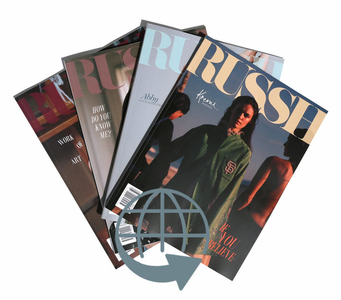 12 Issue International Subscription (CLOSE TO 30% OFF)