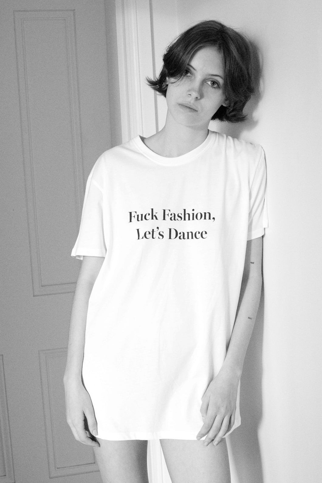 RUSSH x Nathan Smith Fuck Fashion, Let's Dance tee