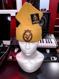 Rv Tan Beanie-Brown Logo