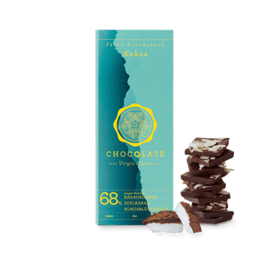 CHOCQLATE organic chocolate coconut with virgin cocoa