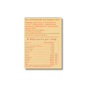 CHOCQLATE Bio Schokolade 5er-Mix N° 6