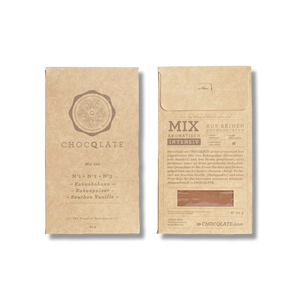 Organic DIY set for making chocolate yourself