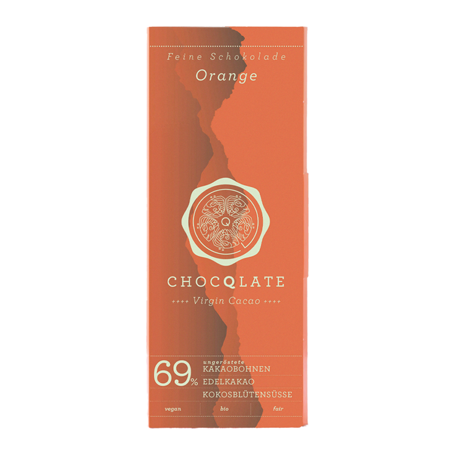 Chocolate Set N ° 08 Coffee - Raspberry - Pure - Orange