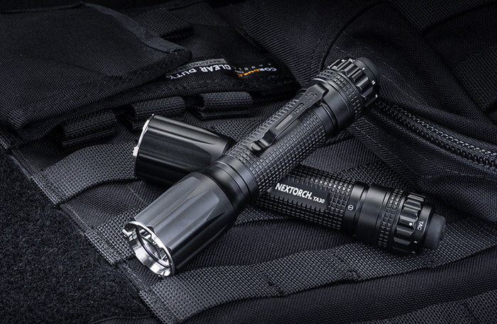 May the 4th., be with you! NEXTORCH®  TA30 LEDFLASHLIGHT