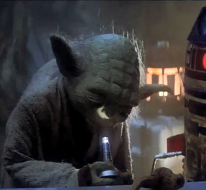 Master Yoda Showing You the Wrong Way of Using A Flashlight!!!