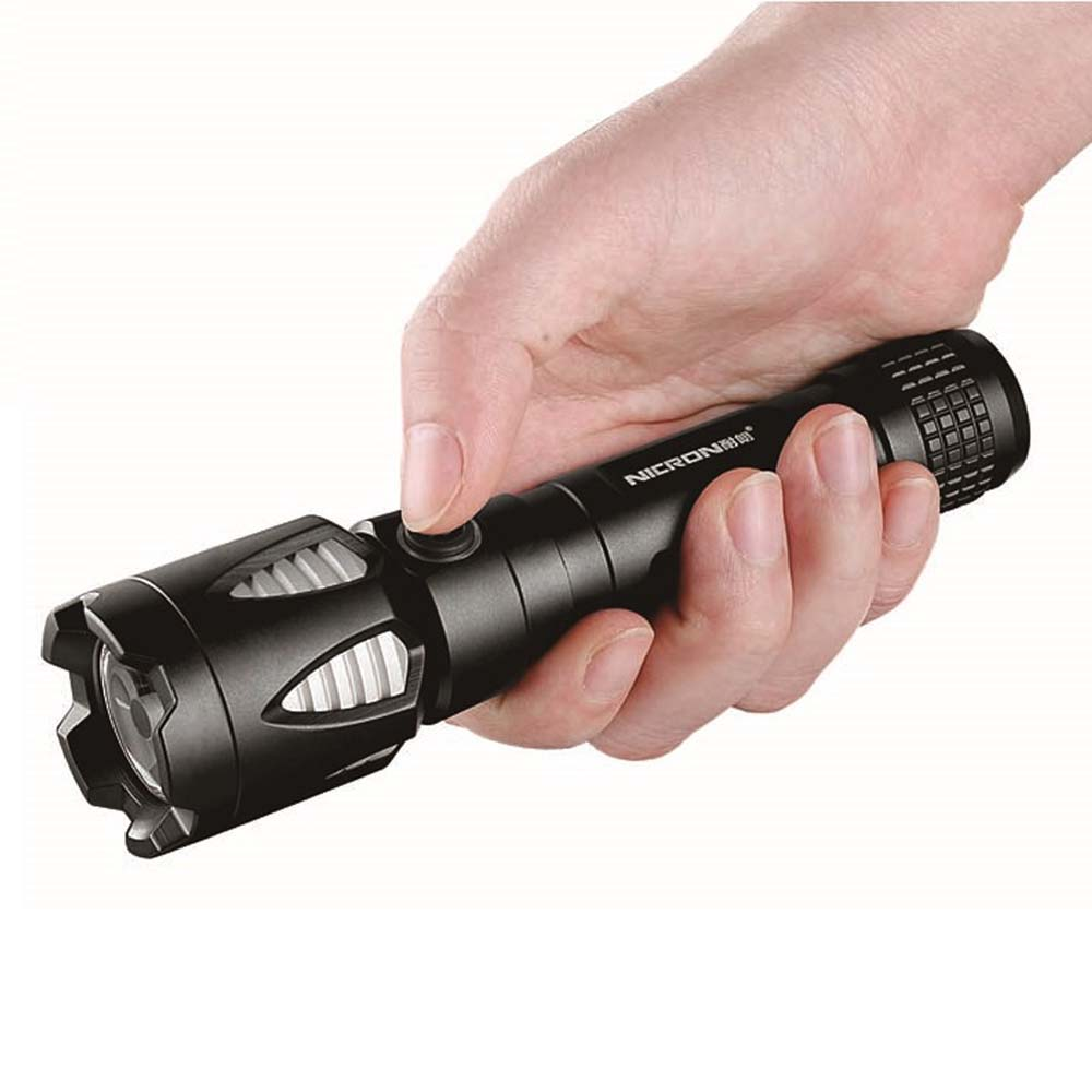 Nicron Sale G80 Rechargeable Led Flashlight 2m Waterproof Strobe and SOS Torch