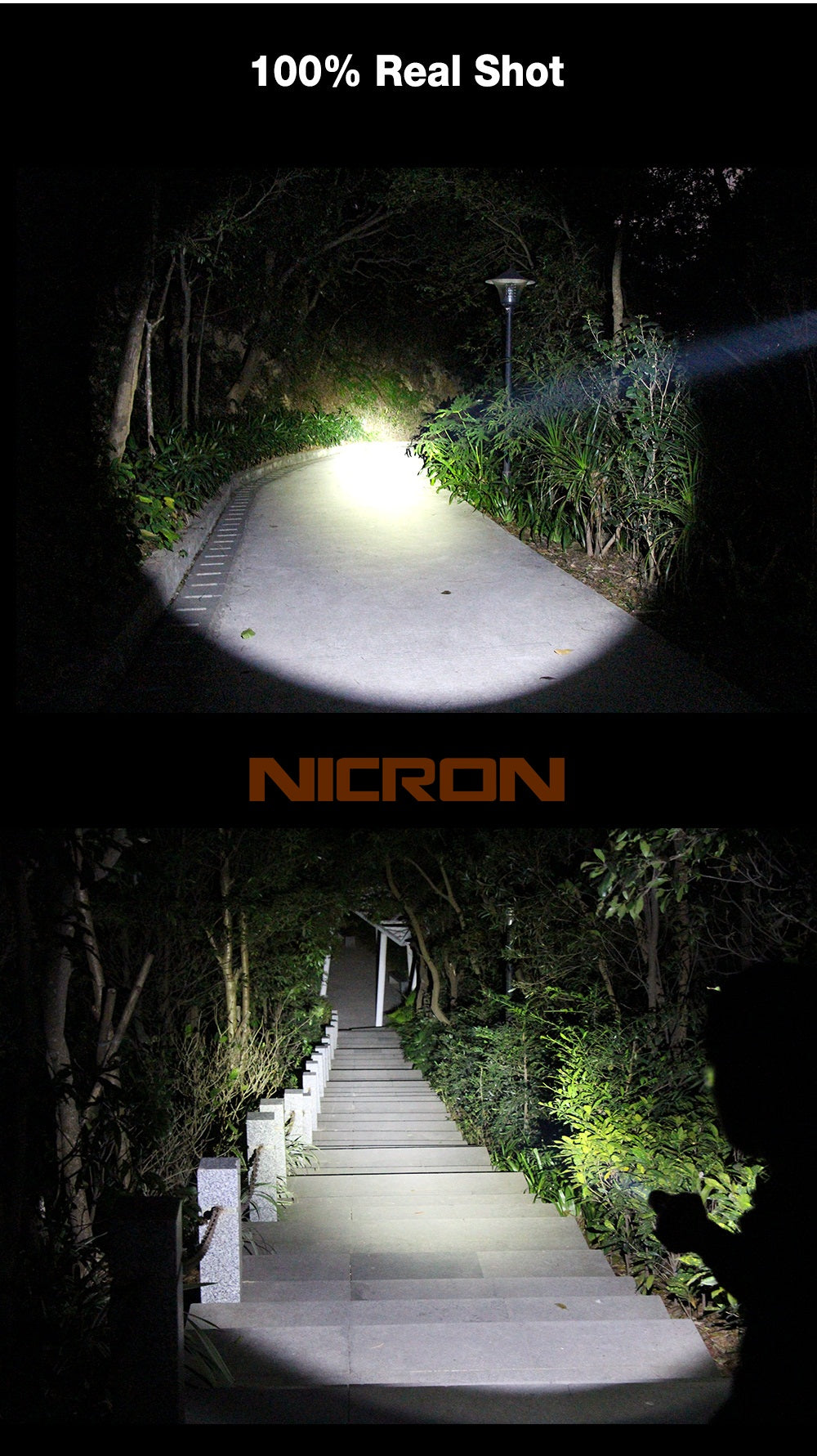 Nicron Flashlight B74