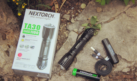 NEXTORCH® Super High Lumen Tactical Rechargeable Led Flashlight TA30