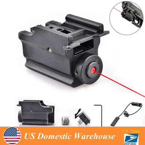 650nm Hunting Adjustable Sighting Red Laser Sight Pistol Gun Light 500 Meters