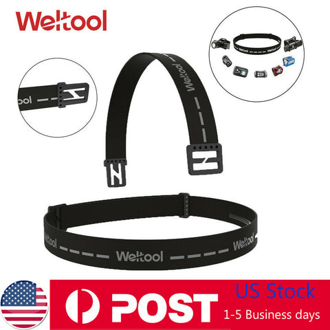 Weltool Headlamp Replacement Strap Adjustable Elastic Headband