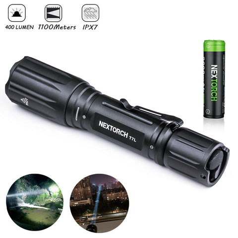 NEXTORCH T7L 1100 Meters Laser Pointer LEP Flashlight Spotlight Long Throw Light