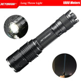 JETBEAM White Laser LEP Flashlight Spotlight Long Throw Light