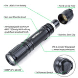 NEXTORCH 1000 Lumens High Output 18650 Tactical Flashlight USB Rechargeable Led Flashlight Torch for Hunting Fishing Outdoors