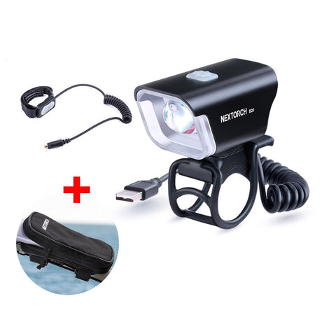 NEXTORCH 800lm Led  Bike Light with Remote Pressure Switch Biking Flashlight B20