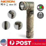Nicron B70Plus 950LM Magnetic Twist 90° Tactical Rechargeable Flashlight