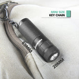 Nicron B10 200lm KeyChain Rechargeable Flashlight