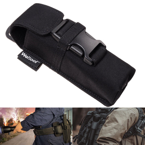 Weltool Flashlight Holster Holder Belt Pouch Molle For MAGLITE Streamlight Fenix