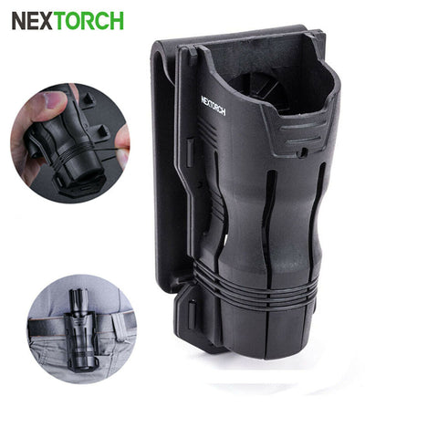 NEXTORCH 360°Tactical LED Flashlight Holster Angle Rotatable Duable Holder