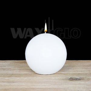 WAXGLO-Ball Candle White