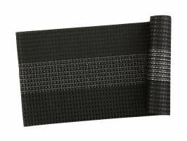 TABLE RUNNER - WOVEN BLACK