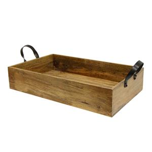 Ploughmans Small Rectangle Tray Iron Handles