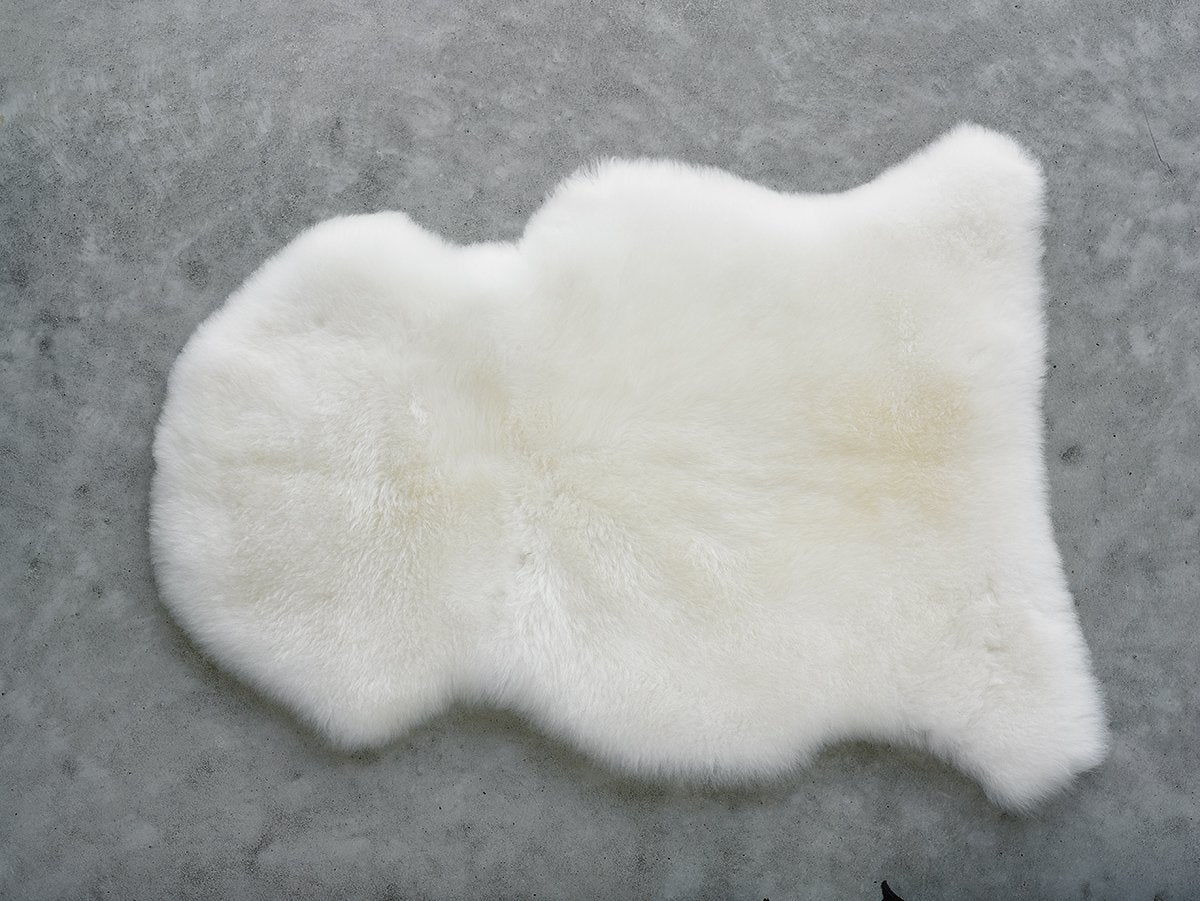 CLASSIC Sheepskin Infant Care Rug (White or Honey)