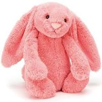 JELLY CAT-Coral Bunny (Medium)