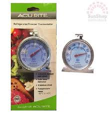 Acurite Fridge Freezer Thermometer