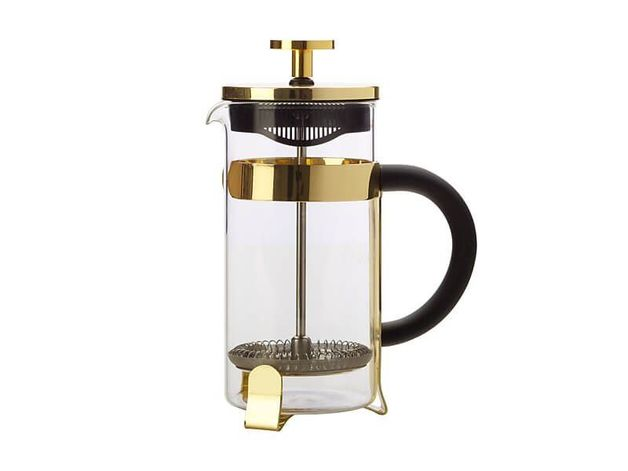 Maxwell & Williams Blend Coffee Plunger 350ml (Gold)