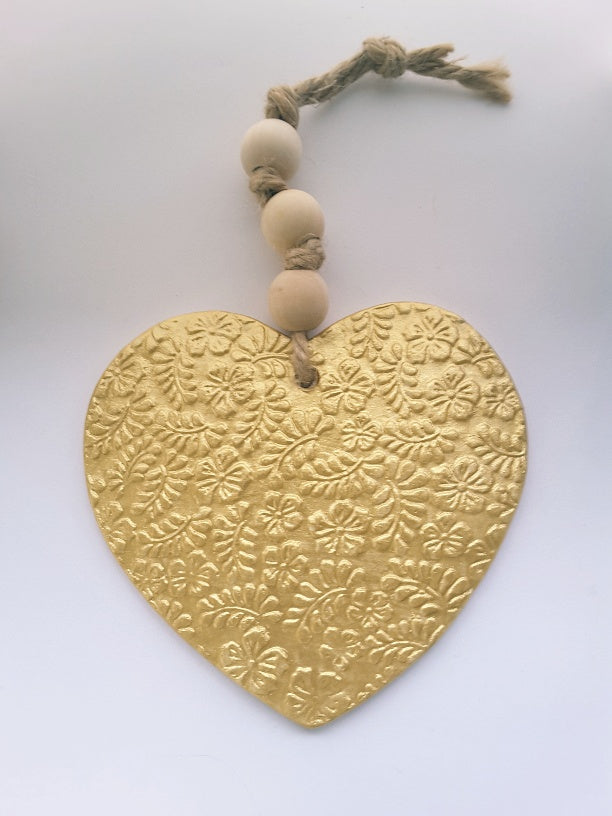 HASINA ART-XL Gold Heart