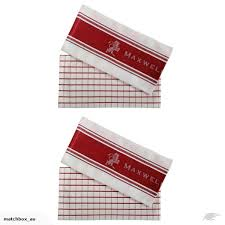 Maxwell & Williams Tea Towel Set of 2 Red