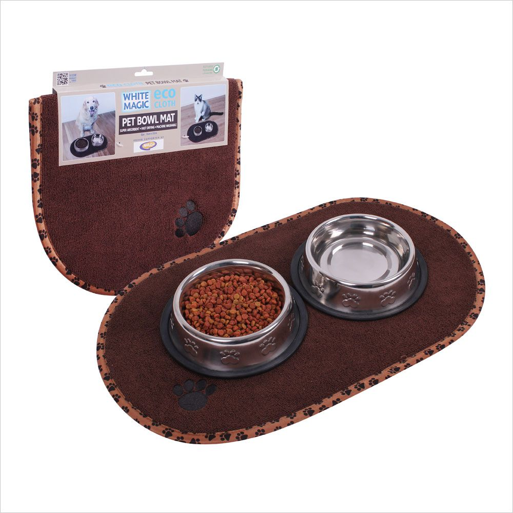 White Magic ECO Pet Bowl Mat