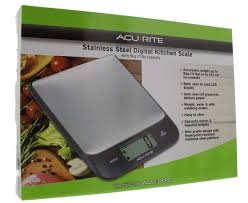 Acurite Stainless Steel Digital Kitchen Scale