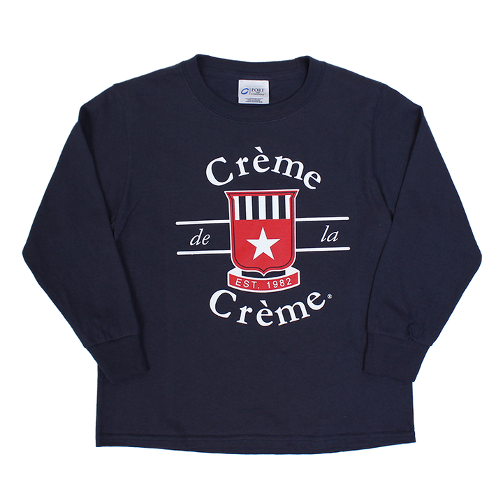 YOUTH LONG SLEEVE T-SHIRT - NAVY