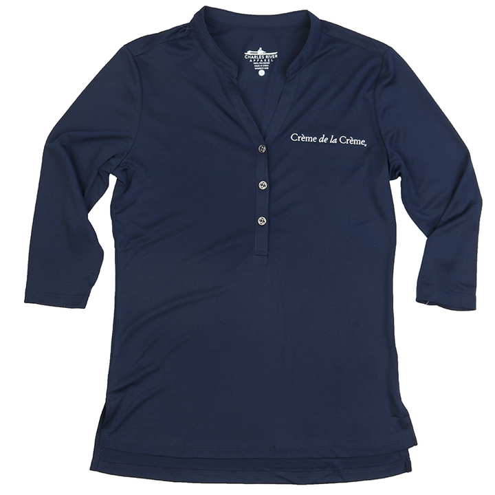Women's Windsor Henley - NAVY