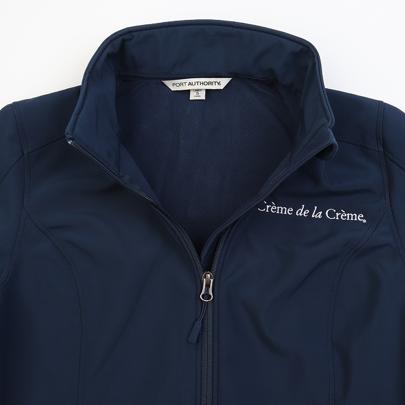 Ladies Soft Shell Jacket - NAVY