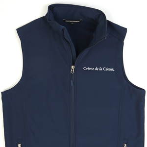 Mens Core Soft Shell Vest - NAVY
