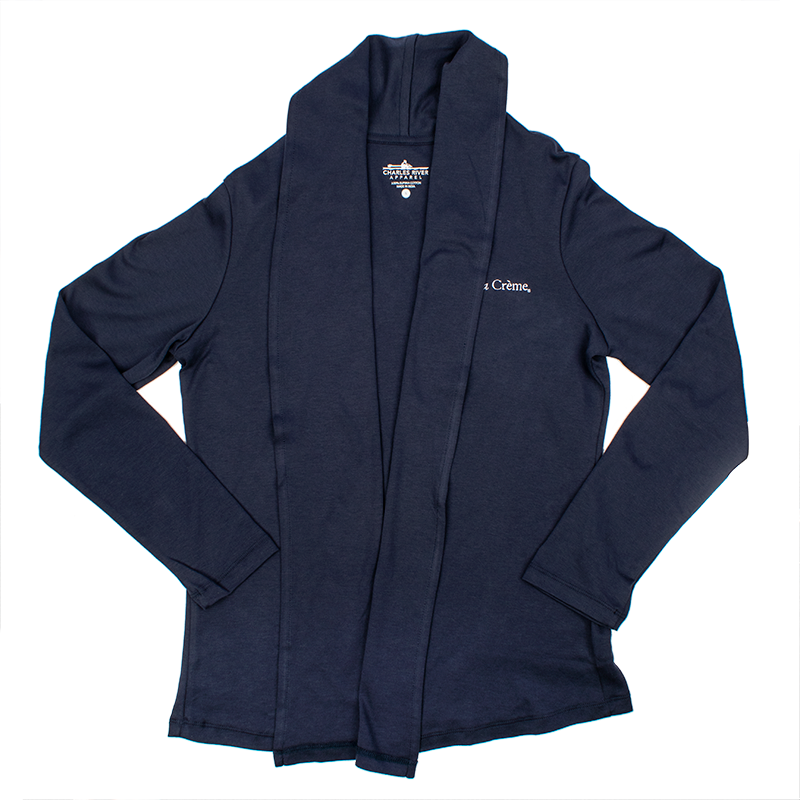 Ladies Cardigan Wrap - NAVY