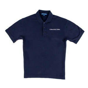Mens Short Sleeve Cotton Polo - NAVY