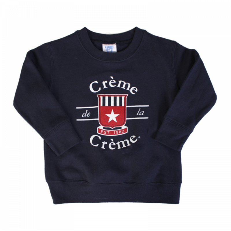 TODDLER CREW SWEATSHIRT - NAVY
