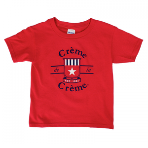 TODDLER SHORT SLEEVE T-SHIRT - RED