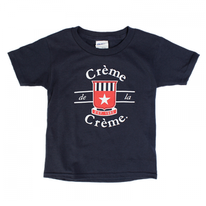 TODDLER SHORT SLEEVE T-SHIRT - NAVY