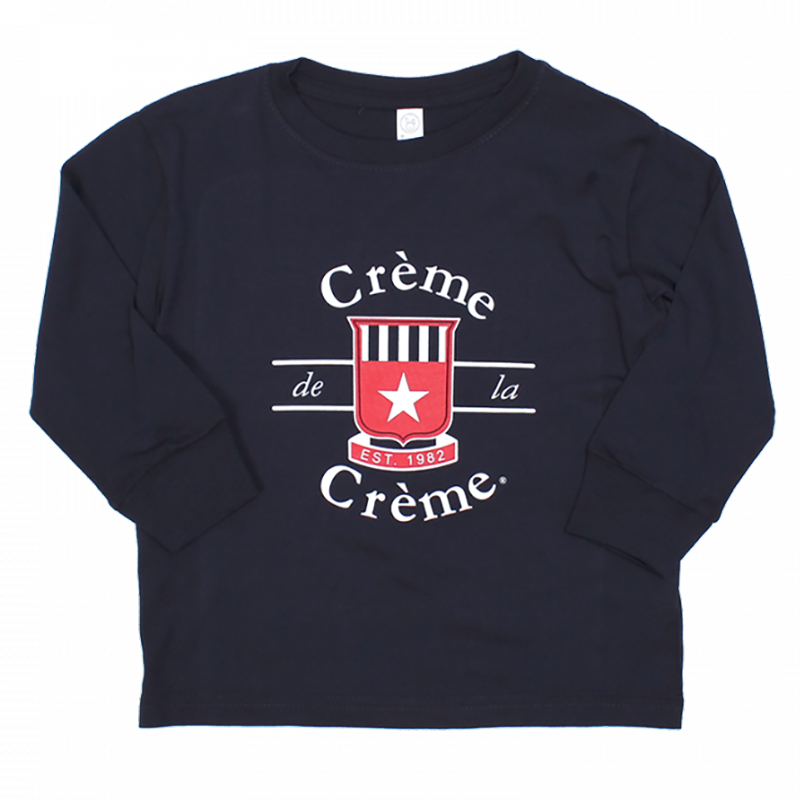 TODDLER LONG SLEEVE T-SHIRT - NAVY
