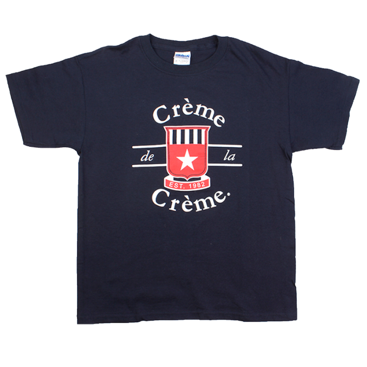 YOUTH SHORT SLEEVE T-SHIRT - NAVY