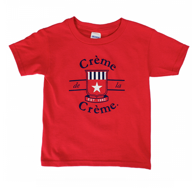 YOUTH SHORT SLEEVE T-SHIRT - RED
