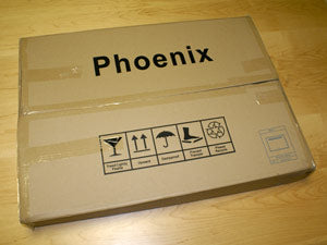 Standard Phoenix mirror packaging