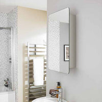 Austin sliding mirror cabinet wall mounted