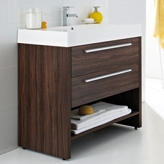 Ultra Harbour 900mm Floor Standing Vanity Unit & Basin